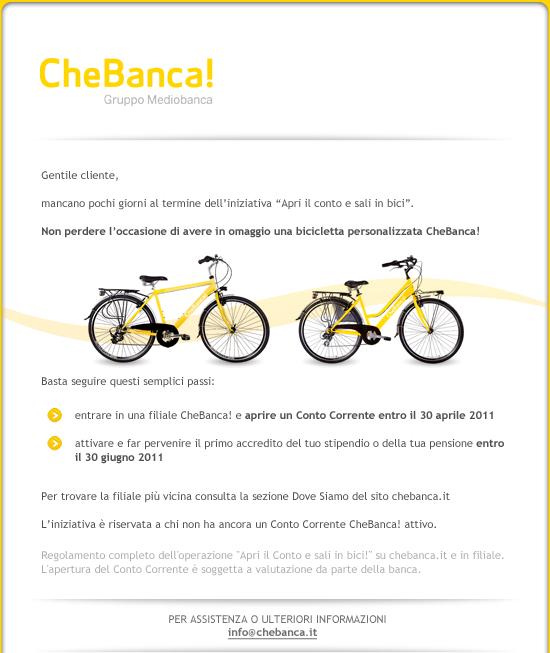 CheBanca!] Promo